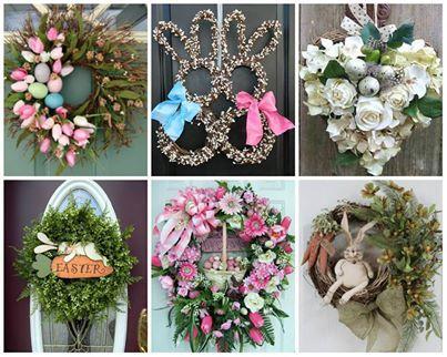 Wielkanocne Wianki Na Drzwi Wianki Pinterest Wreaths Easter I