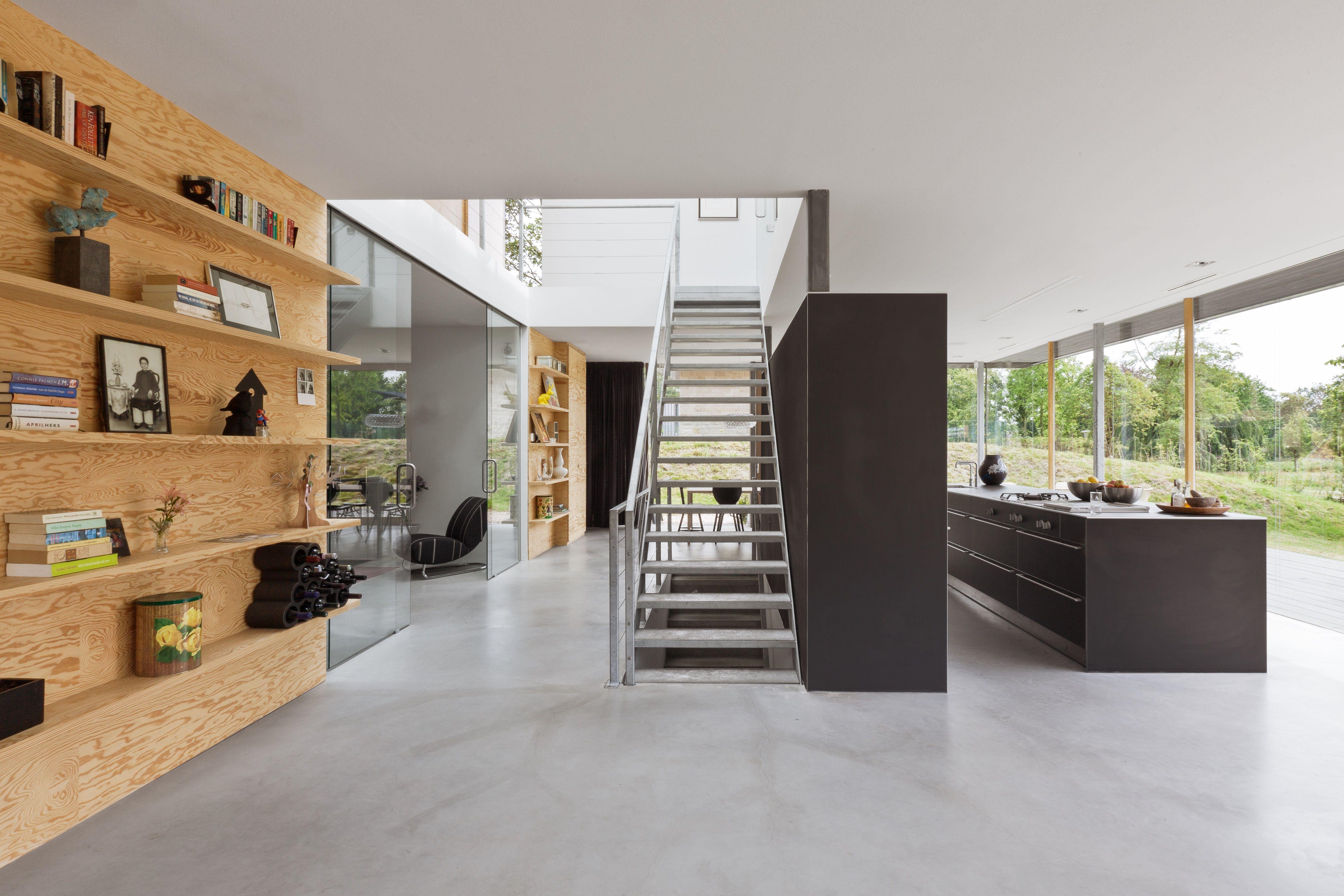 Minimalistische villa in duinen van paul de ruiter architects en