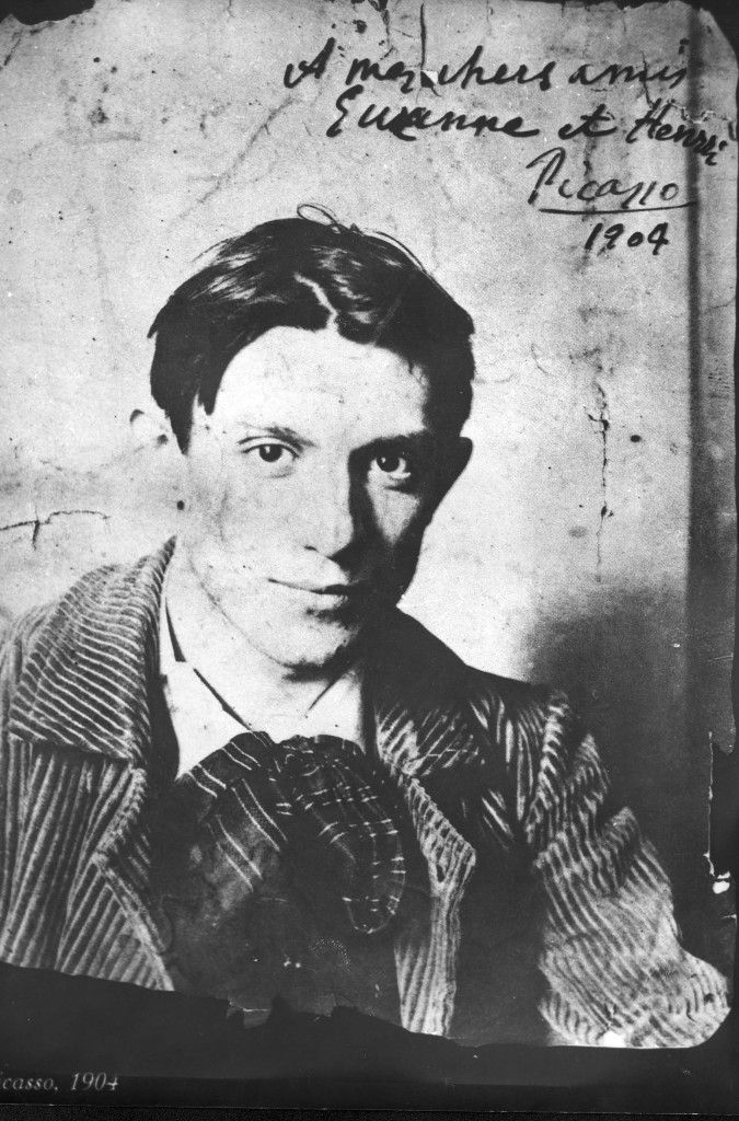 archive photo of Picasso at the age of 23 years, in 1904... handsome :) |  Picasso self portrait, Picasso art, Famous artists