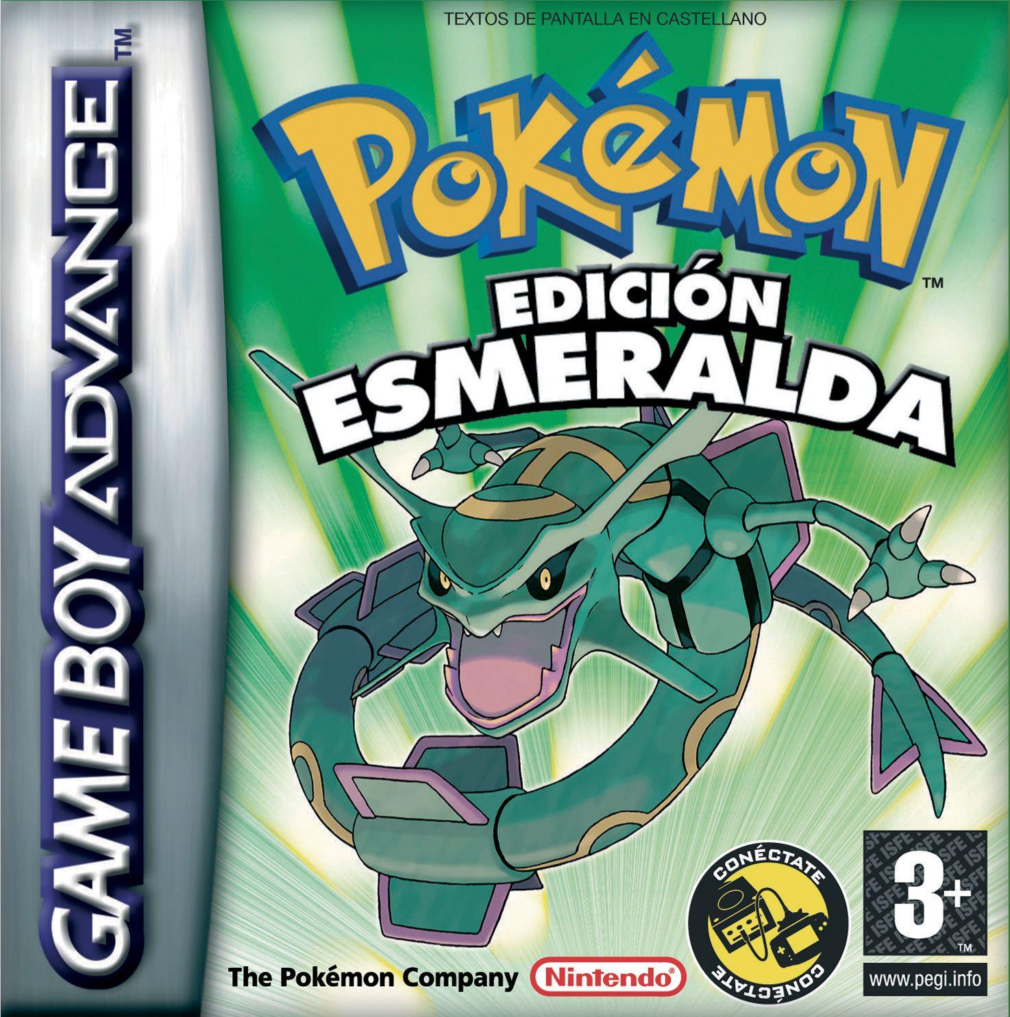 Pokémon Edición Esmeralda 2004 Pokemon Emerald Pokemon Pokemon Games