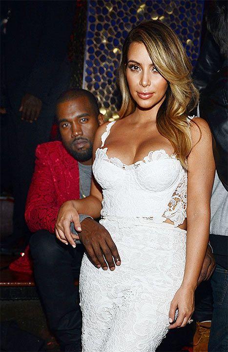 Kim Kardashian Kanye West Engaged Kim Shaking During Proposal