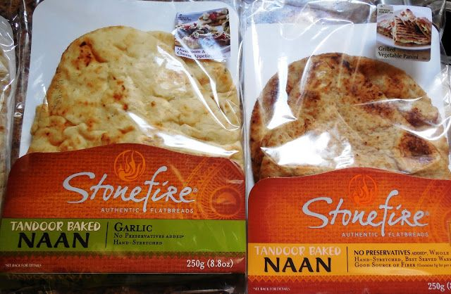 Stonefire Naan Review and Giveaway | Products & Food Finds | Naan