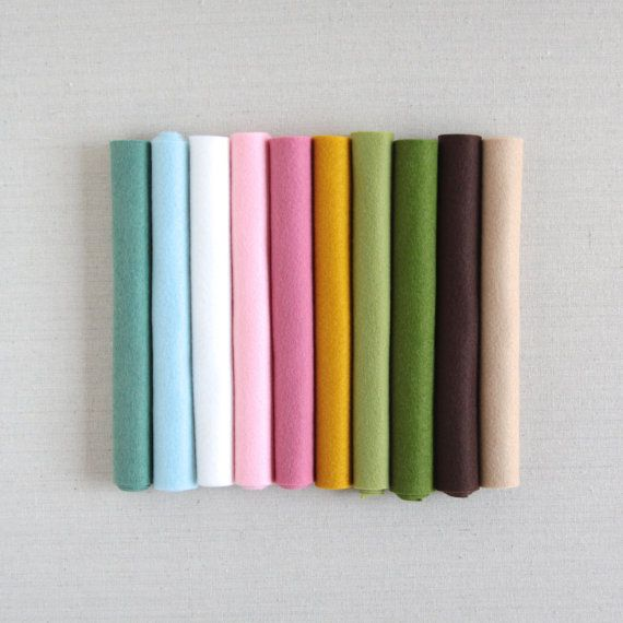 Noia Land Wool Felt For Pattern Benzie Guest Curator