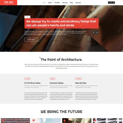 Construction Company Responsive WordPress Theme WordPress Theme ...