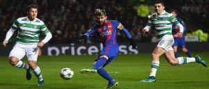 دوري أبطال أوروبا ميسي يقود برشلونة إلى التأهل لدور ال16 بثنائية في مرمى سيلتيك Avec Images