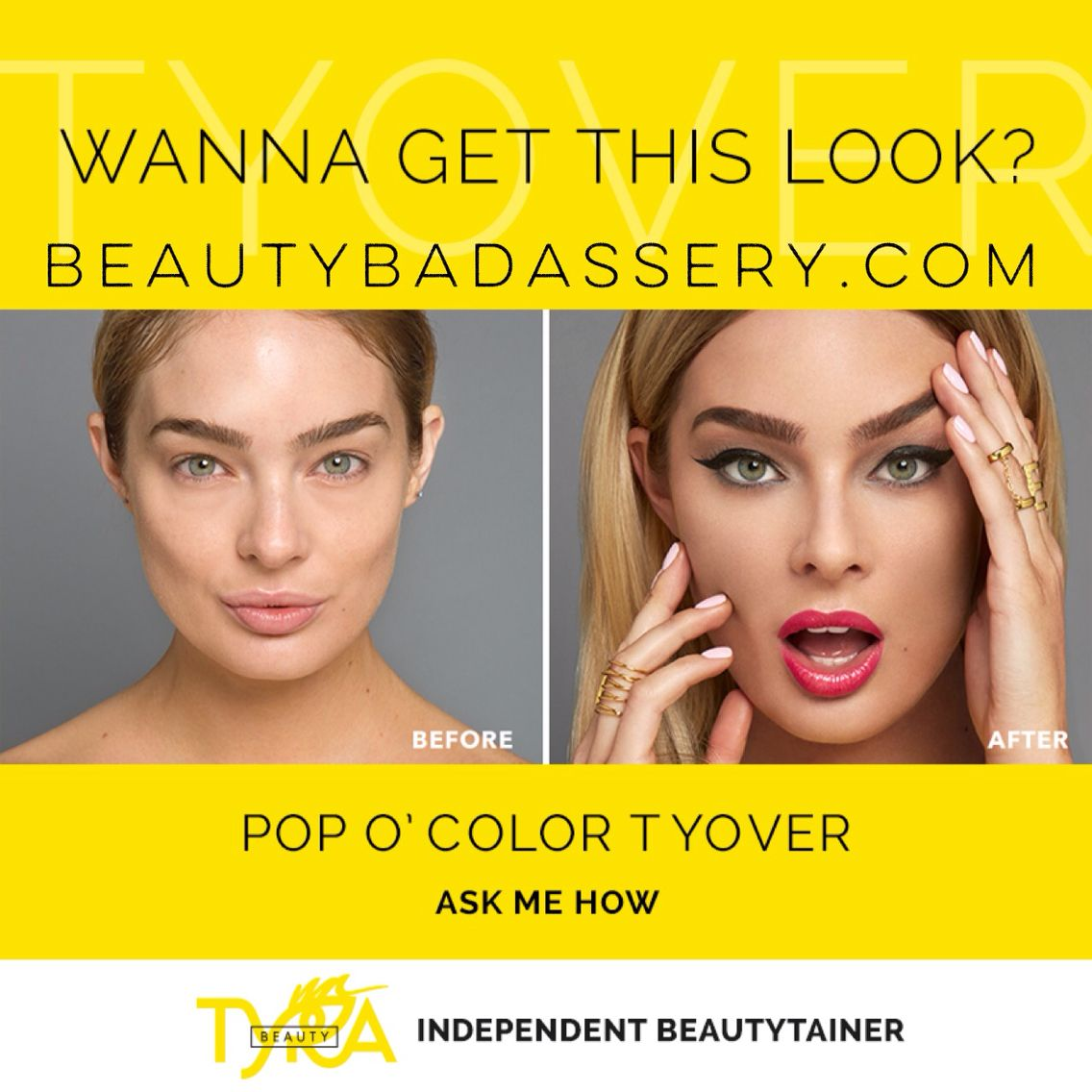 Your first Tyover is 40 off 🎉💄💋