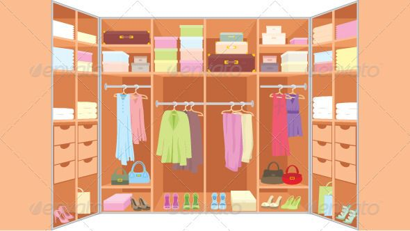 Wardrobe Room Wardrobe Room Clothes Illustration Trendy Outfits For Teens