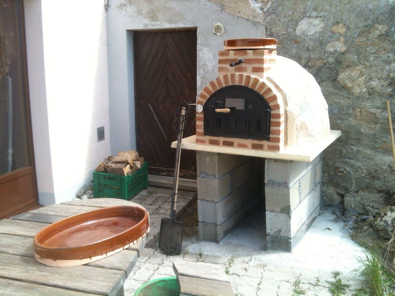 Horno de le a en acabado tradicional colocado por - Modelos de hornos de lena ...