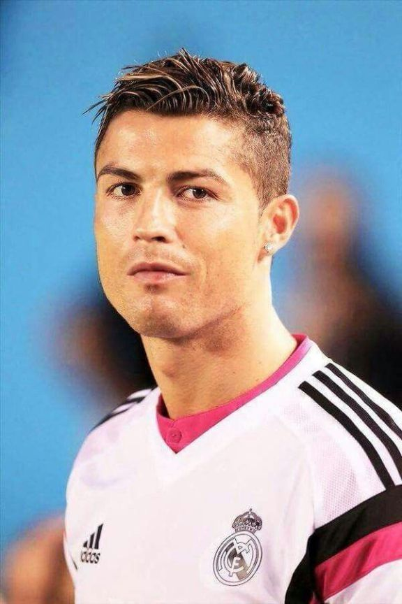 Cristiano Ronaldo Frisur Geschichte Cristiano Ronaldo