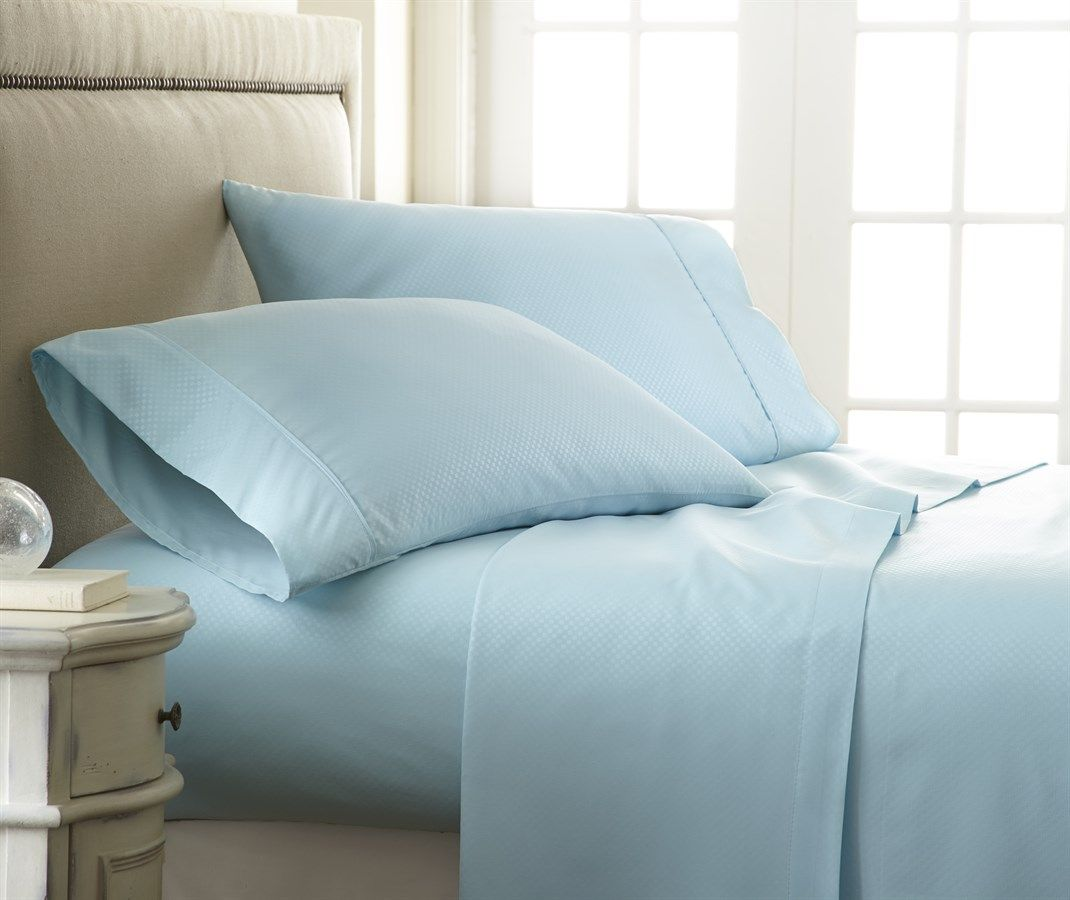 1800 Thread Count Checkered Sheet Set | 4 Piece | Fitted sheets ...