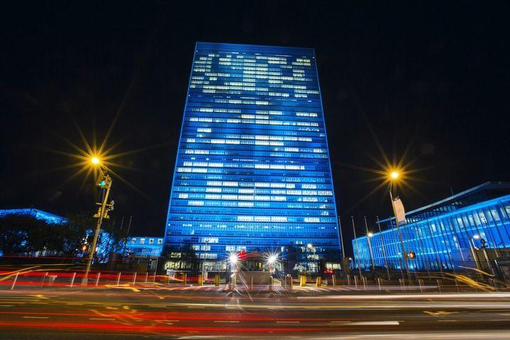 UN blue 70th - Google 検索