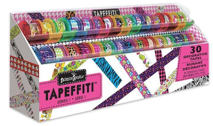 Tapeffiti Decorative Tape Fashion Angels Kids Toy Store