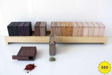 Caixa de especiarias por Filipe Santos Marinho