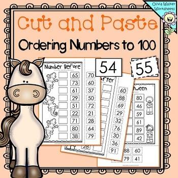 Printable Easter Egg Number Ordering Worksheet Numbers 1 10 Ordering Numbers Easter Printables Free Number Order Worksheets