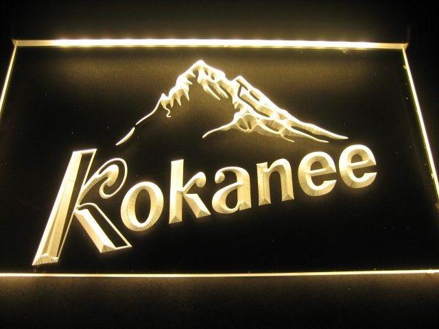Kokanee Logo Beer Bar Pub Store Neon Light Sign