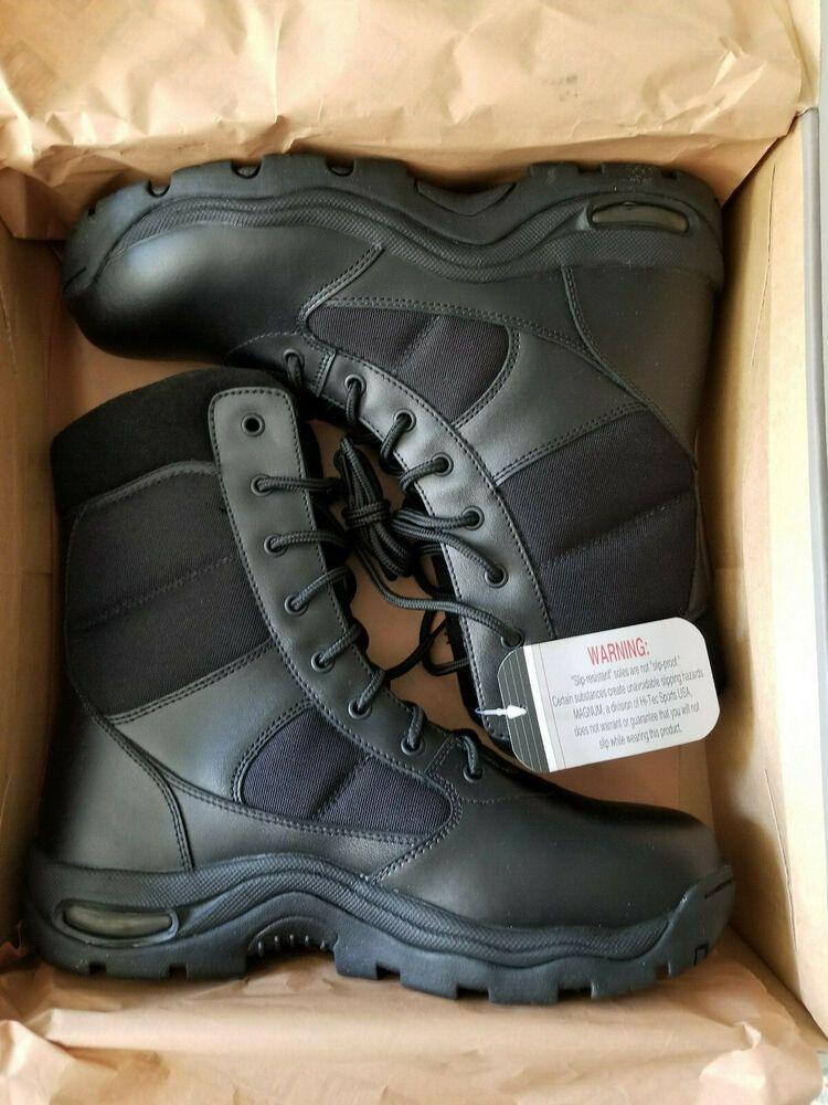 Magnum Viper Pro 8.0 EN Tactical Military Boots Police Security Footwear Black
