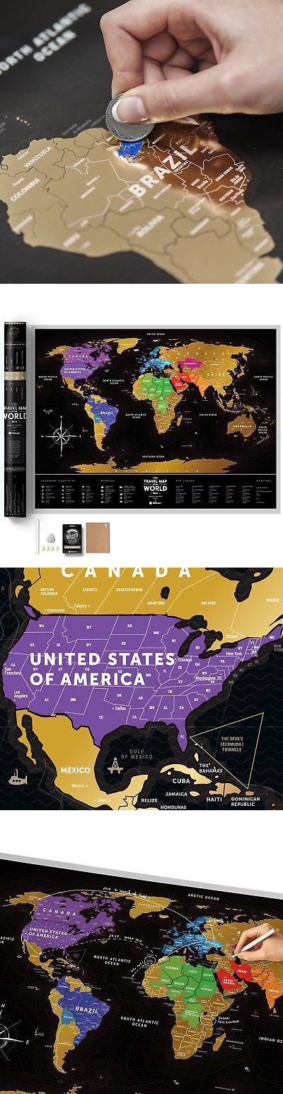 Other travel maps 164807 scratch off places world map 1dea other travel maps 164807 scratch off places world map 1dea scratchable black gumiabroncs Images