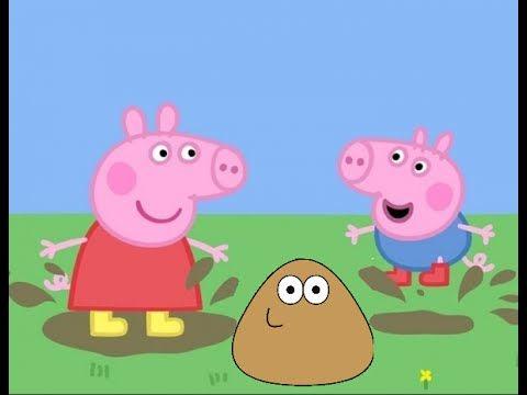 Play Doh Peppa Pig Playset Pou Peppa Pig George Novos Desenhos Português.