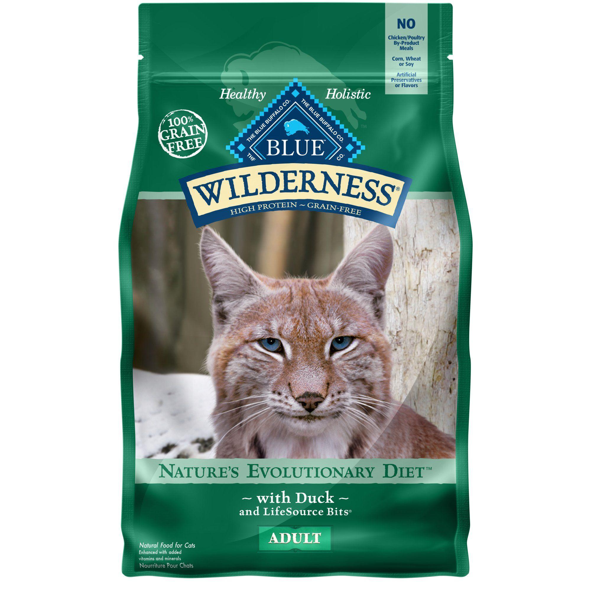 Blue Buffalo Blue Wilderness Adult Duck Recipe Dry Cat