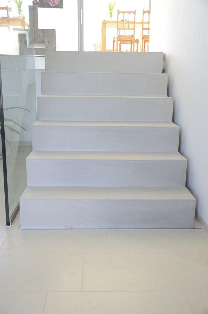 Beton Cire Treppe besserbauen beton cire spezialist treppe pfalz treppen stairs