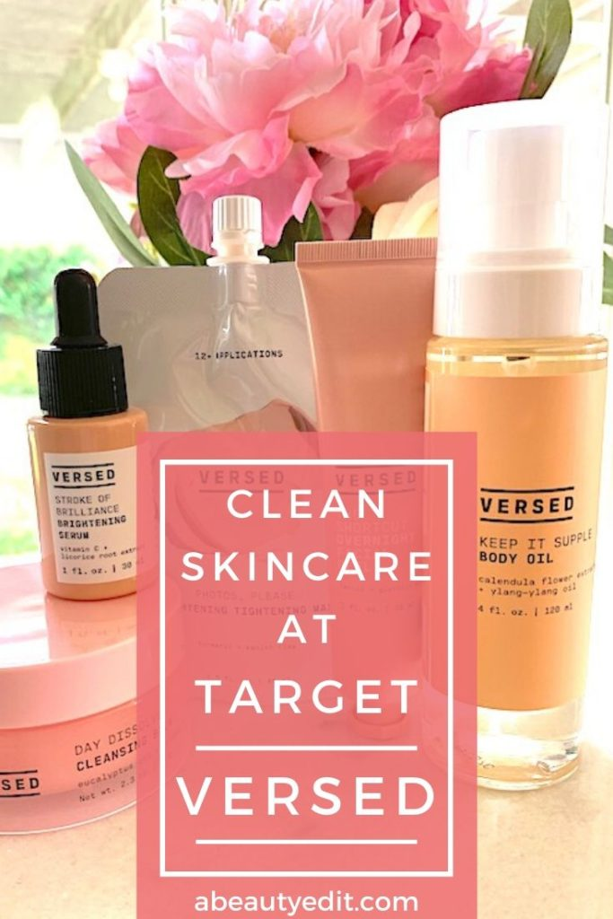 Affordable Clean Skincare Line Versed Skin care, Dry