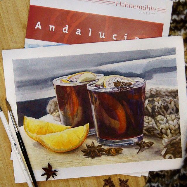 Еще вполне можно греться глинтвейном, ну и повод сегодня есть  mulled  wine to warm up the last cold winter days