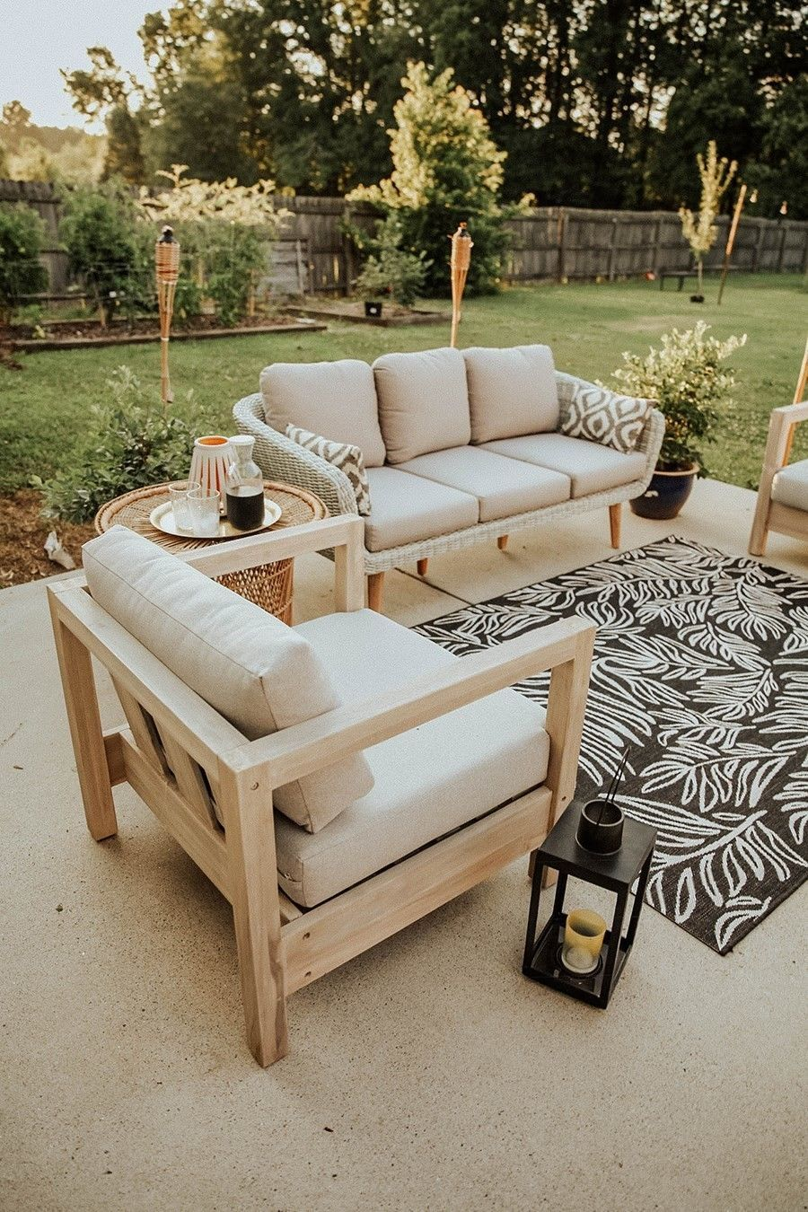 Arca Driftwood Gray Lounge Chair Diy Outdoor Furniture Outdoor