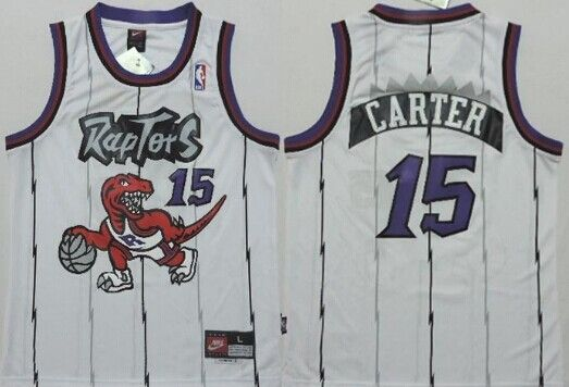 Toronto Raptors  15 Vince Carter Hardwood Classic White Swingman Kids  Jersey on sale c02ac7df4