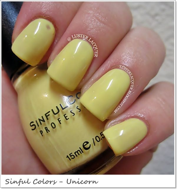 Sinful Colors Sugar Rush (Spring 2013 Collection)-Unicorn