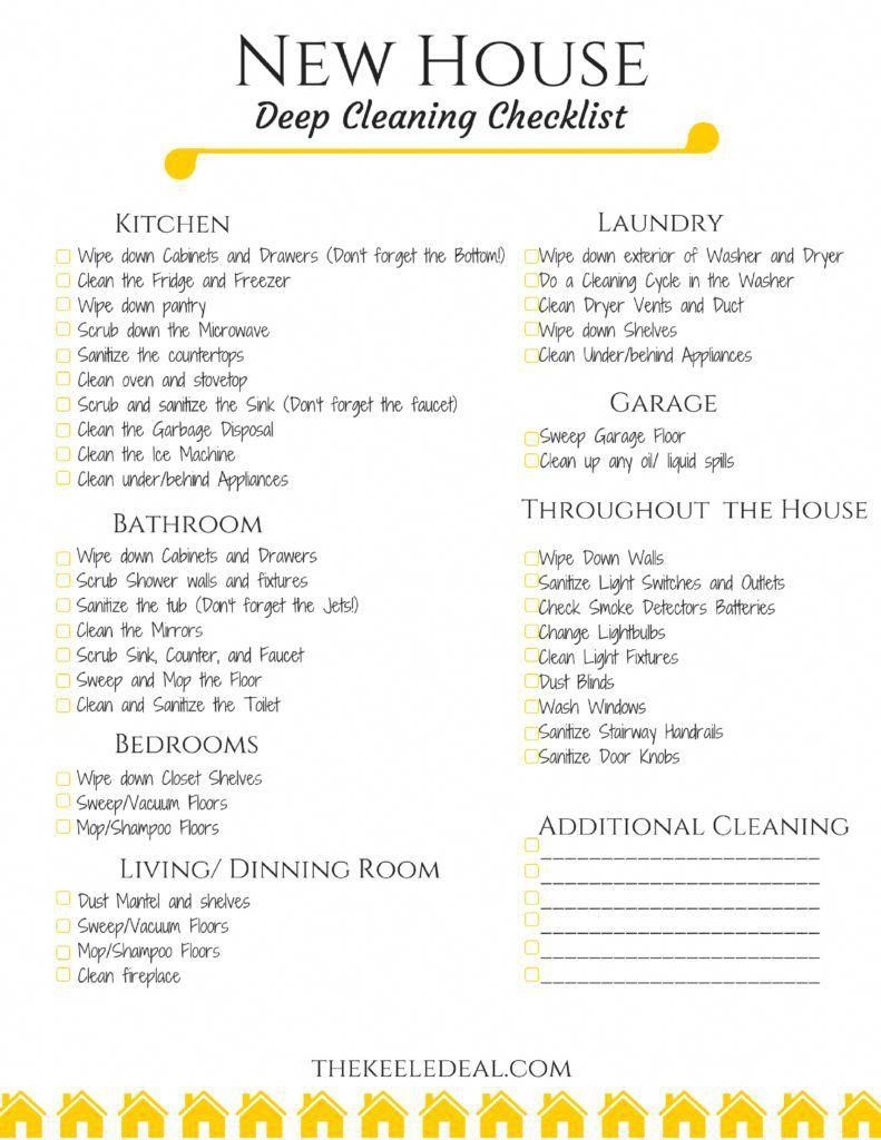 Excellent Clean Tips Are Offered On Our Site Read More And You Will Not Be Sorry You Did Cleaning Deep Cleaning Checklist Cleaning Hacks Cleaning Checklist