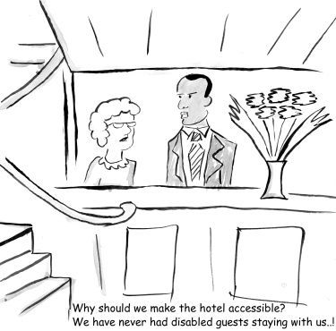 why should we make our hotel accessible?