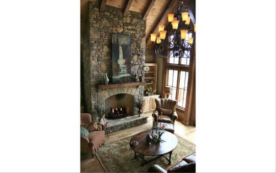 I'd love to have this fireplace ...