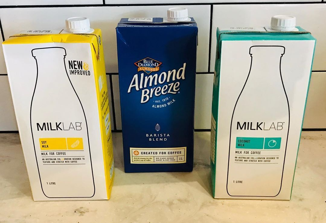 Did you know we stock soy, almond and coconut milk?! Perfect for everybody! ☕️🥛