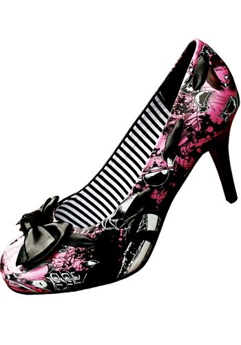 My Iron Fist shoes :-) (Babylon print) (a favourite repin of VIP Fashion Australia www.vipfashionaustralia.com ) (a favourite gothic punk shoes repin of VIP Fashion Australia )