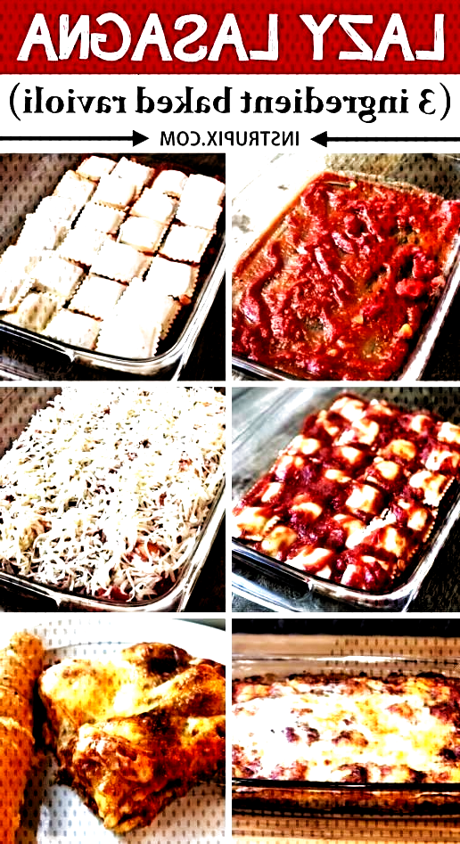 #instrupixcom #ingredients #vegetarian #ingredient #friendly #ravioli #awesome #lasagna #perfect #family #budget #dinner #recipe #super #cheap LAZY LASAGNA (3 Ingredient Ravioli Bake) -- This quick and easy dinner recipe is perfect for the faLAZY LASAGNA (3 Ingredient Ravioli Bake) -- This quick and easy dinner recipe is perfect for the family! Its just 3 ingredients (super cheap!), and an awesome main dish idea for any busy mom. Kids love it, and its awesome left over too! Super budget...