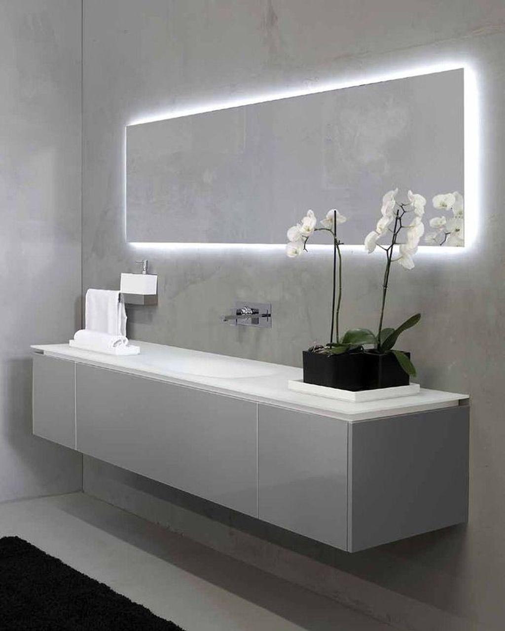 Bathroom Mirror Ideas On Budget Minimalist And Modern Goat Badezimmerspiegel Beleuchtung Modernes Badezimmerdesign Badezimmer Spiegelschrank