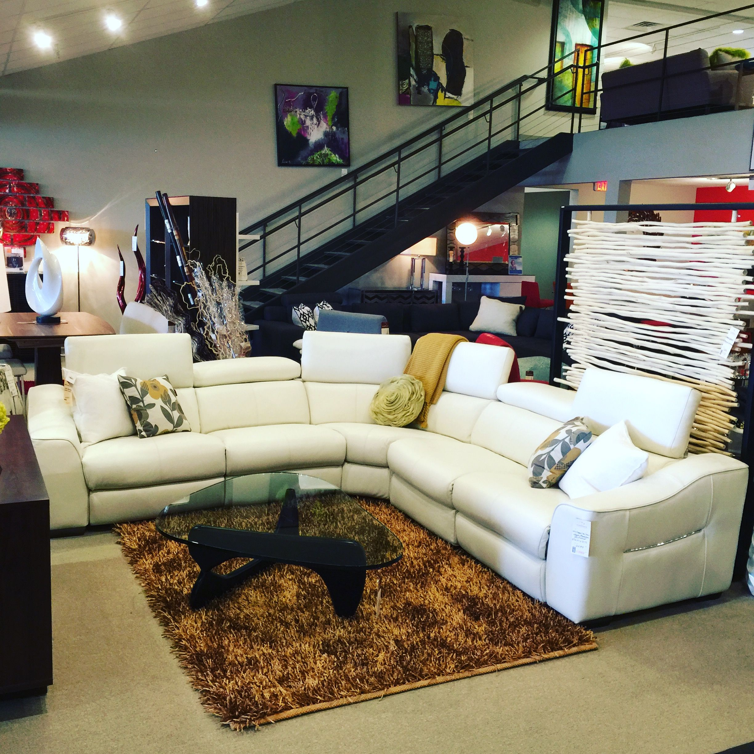 Megalo Sectional Scandinavia Inc Htl Leather New Orleans Metairie Louisiana Contemporary Furniture Modern