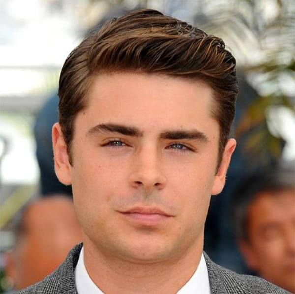 Flat Top Light Waved Comb Over Haircut Coiffure Homme Court Cheveux Ondules Hommes Coiffure Zac Efron