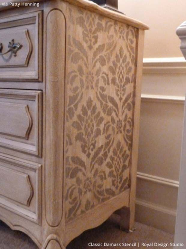 Painted And Stenciled Furniture Ideas Furniture