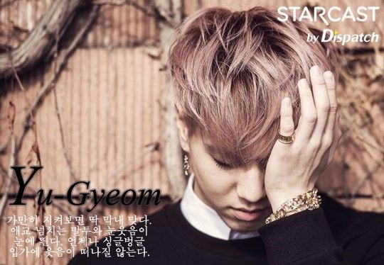 Yu-Gyeom - GOT7 // STARCAST by Dispatch ... I am in love with this picture of maknea