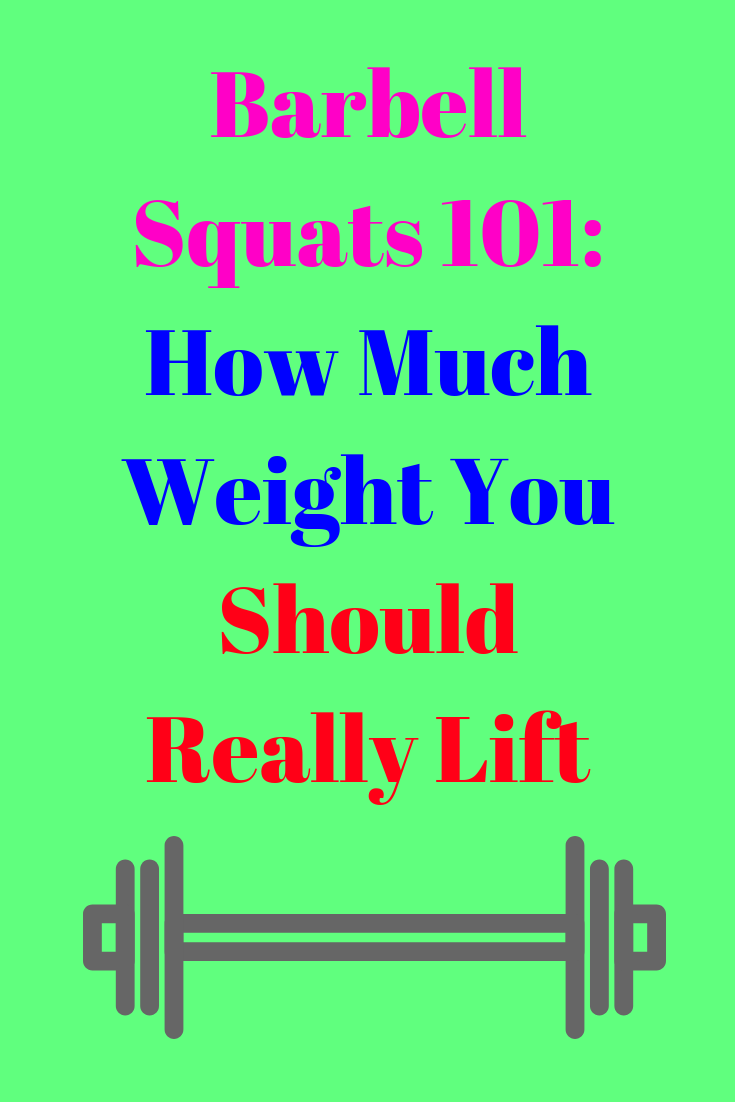 Barbell Squats 101: How Much Weight You Should Really Lift