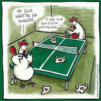 Omg Toctoc Tabletennis Funny Cartoons Funny Comics Funny Images