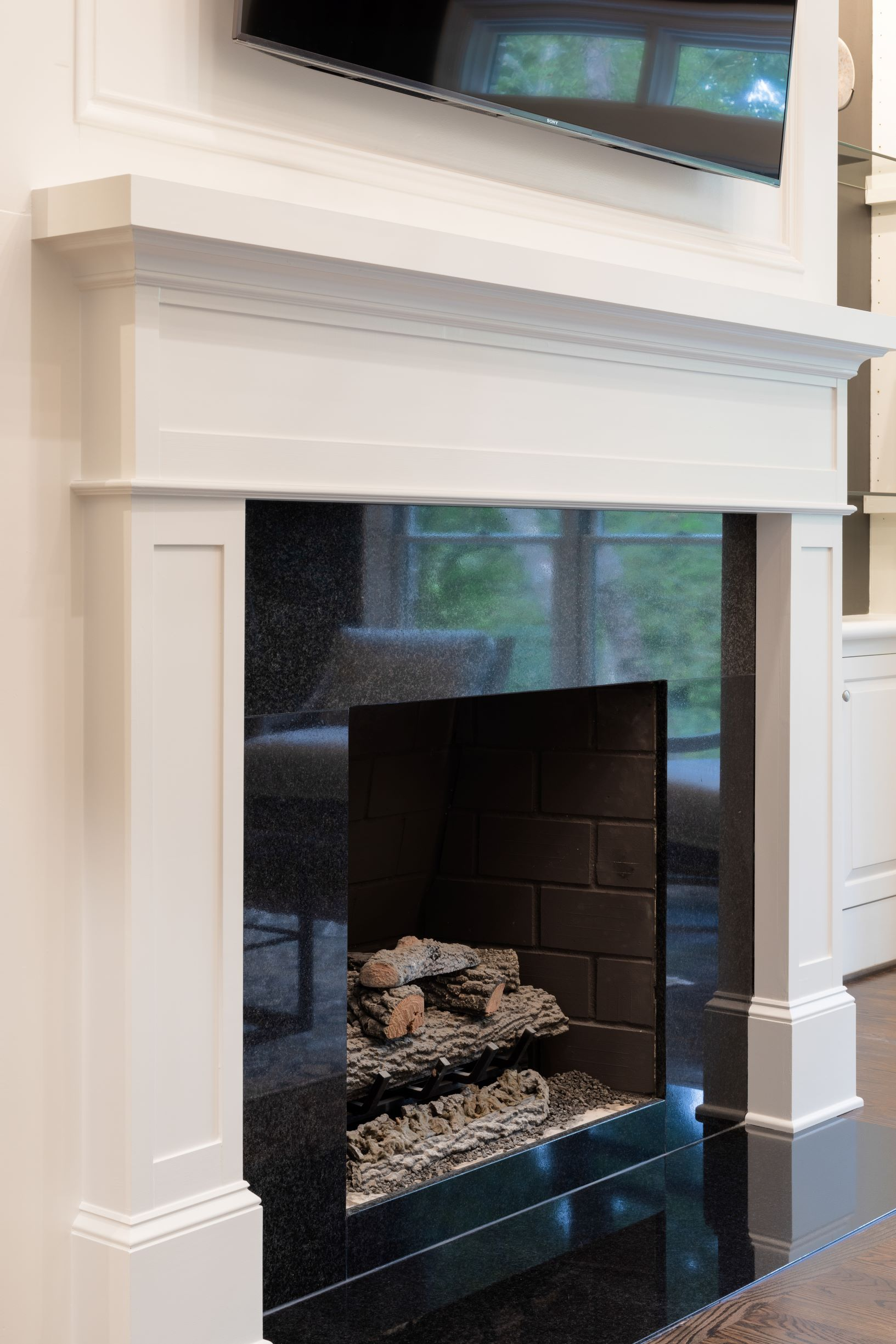Black Fireplace Surround Fireplace Surrounds Black Fireplace
