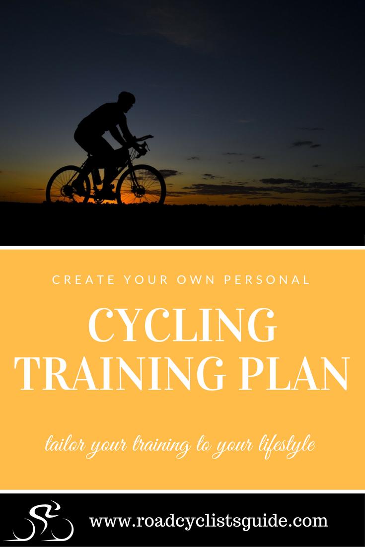 Build A Personalised Cycling Training Plan The Road Cyclist S Guide Cycling Training Plan Training Plan Bike Training