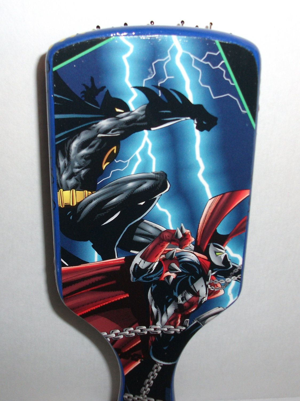 Batman VS SpawnFan ArtLarge Wire Pin Cushion Paddle