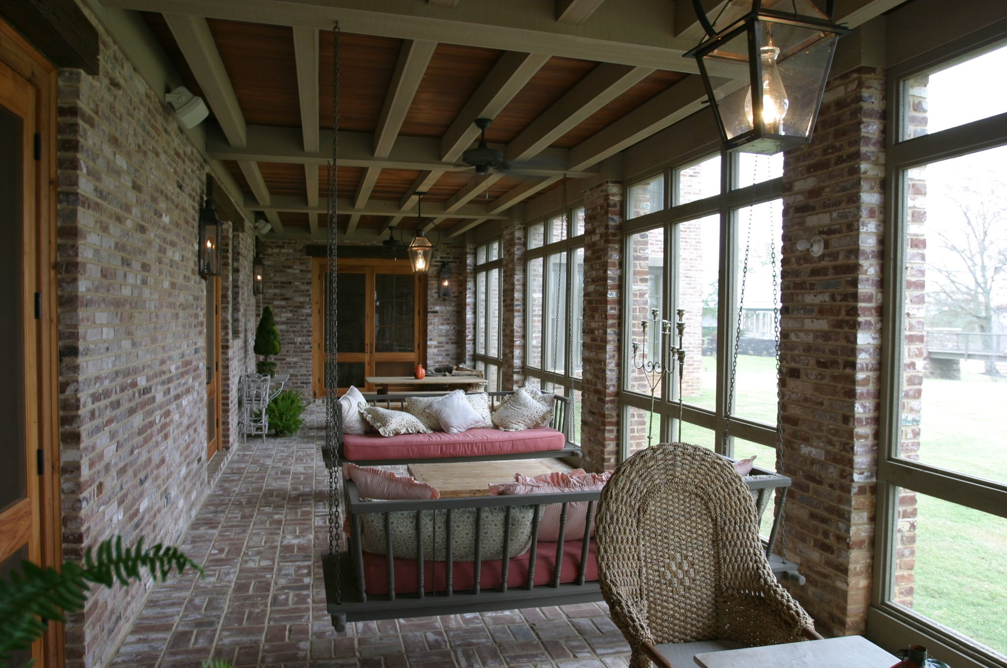 Porch swings: -Shaprio & Company Architects, Inc. # ... on Outdoor Living Space Company id=16311