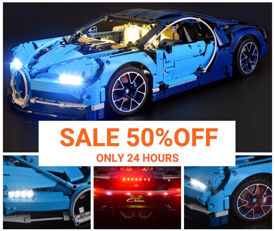 Sale 50 Off Today Lego Technic Bugatti Chiron Light Legofan