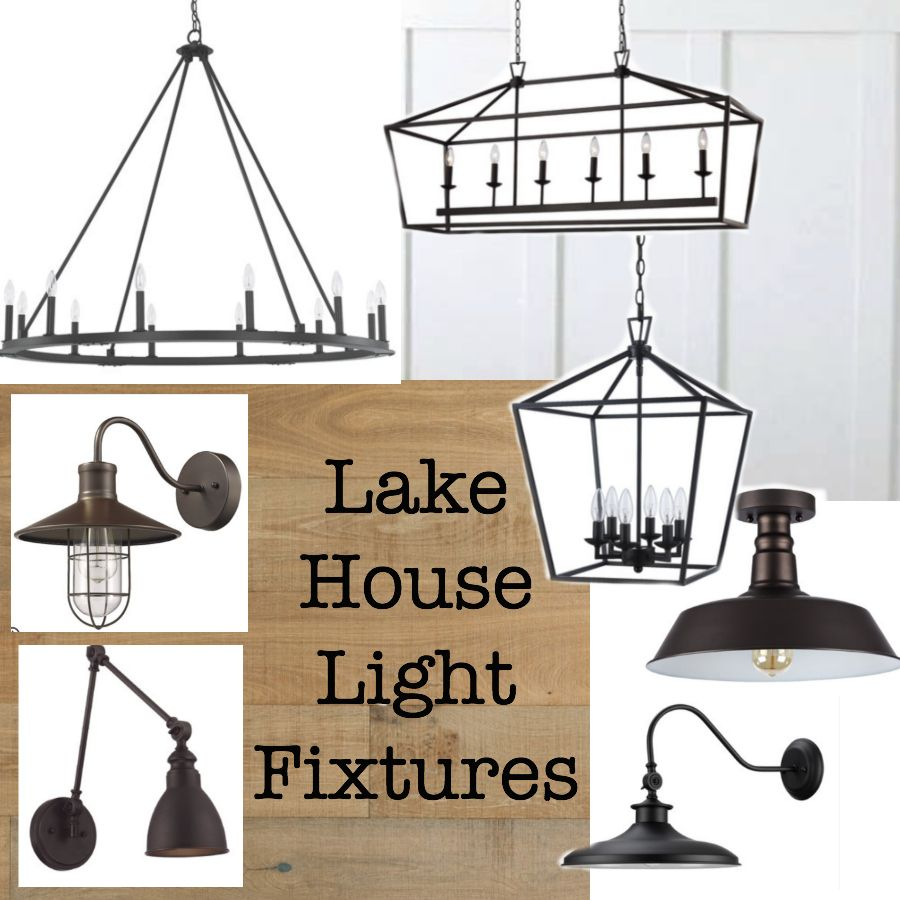 Lake House Light Fixtures The Lilypad Cottage Modern Lake