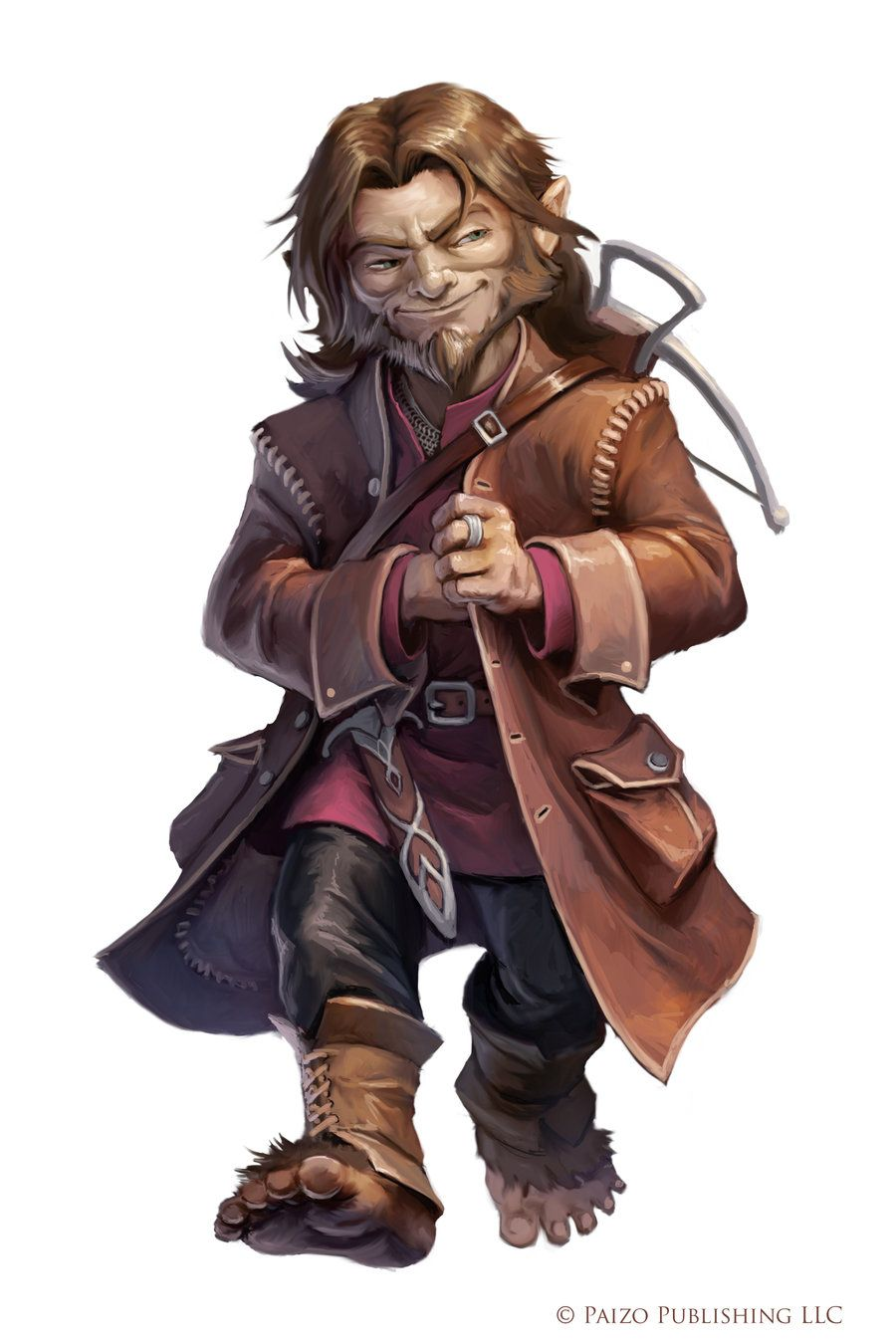 Pathfinder: Contraband Smuggler by WillOBrien | RPG Character Ideas