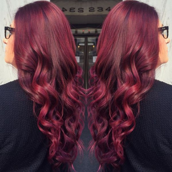 19 Best Red Violet Hair Color Ideas Violet Hair Colors Red